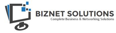 BIZNET SOULTIONS Logo